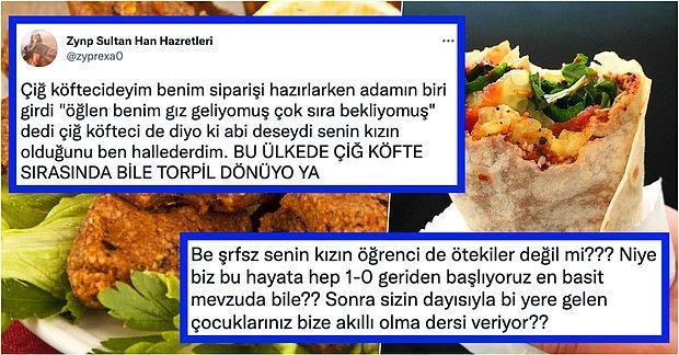 Çiğ Köfte Sırasında Bile Torpil Döndüğünü Anlatan Twitter Kullanıcısına Gelen Birbirinden Haklı Yorumlar
