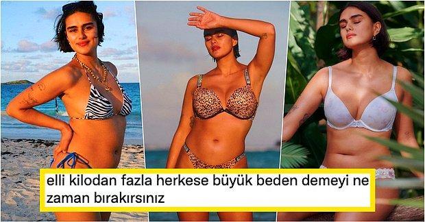 Vogue Rusya Kapağında İlk Kez Yer Verilen 'Büyük Beden' Jill Kortleve Sosyal Medyada Tartışma Yarattı!