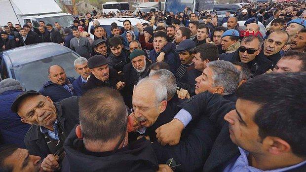 Cumhurbaşkanı Erdoğan Partisinin Grup Toplantısında Kılıçdaroğlu'nun Uğradığı Saldırının Görüntülerini İzletti