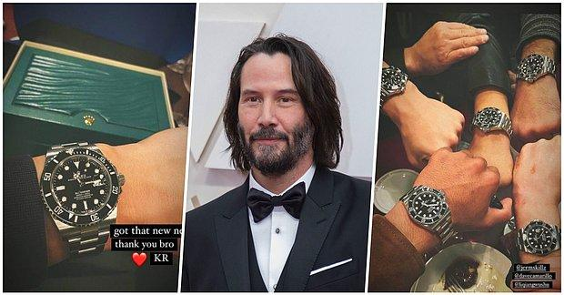 Yeter Be Aşk Adam! Keanu Reeves 'John Wick 4'un Çekimleri Tamamlanınca Dublör Ekibine Rolex Hediye Etti