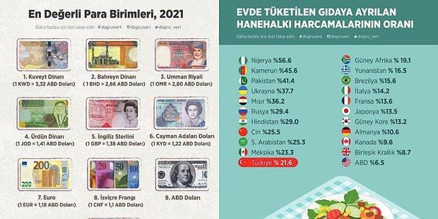 Türkiye ve Dünya Hakkında Önemli Bilgiler Veren Ufkunuzu Anında Aydınlatacak 11 İnfografik