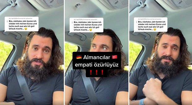 'Seneye Euro'larımla Türkiye'ye Geleceğim ve Size Güleceğim' Diyen Gurbetçiyi Eleştirdi: 'Empati Özürlüyüz'