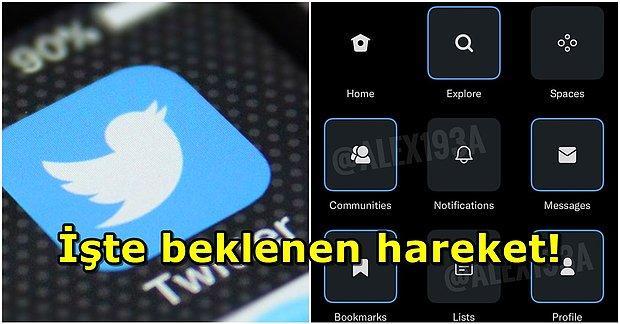 Büyük Kolaylık Geliyor! Twitter, Menü Özelleştirme Özelliği Getiriyor