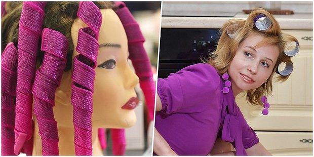 Bu Renkli Bigudilerle Saçlarına Farklı Bir Hava Katabilirsin!