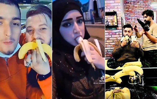 Suriyelilerin TikTok'ta Başlattığı 'Muz Yeme' Akımı: 11 Kişi Gözaltına Alındı